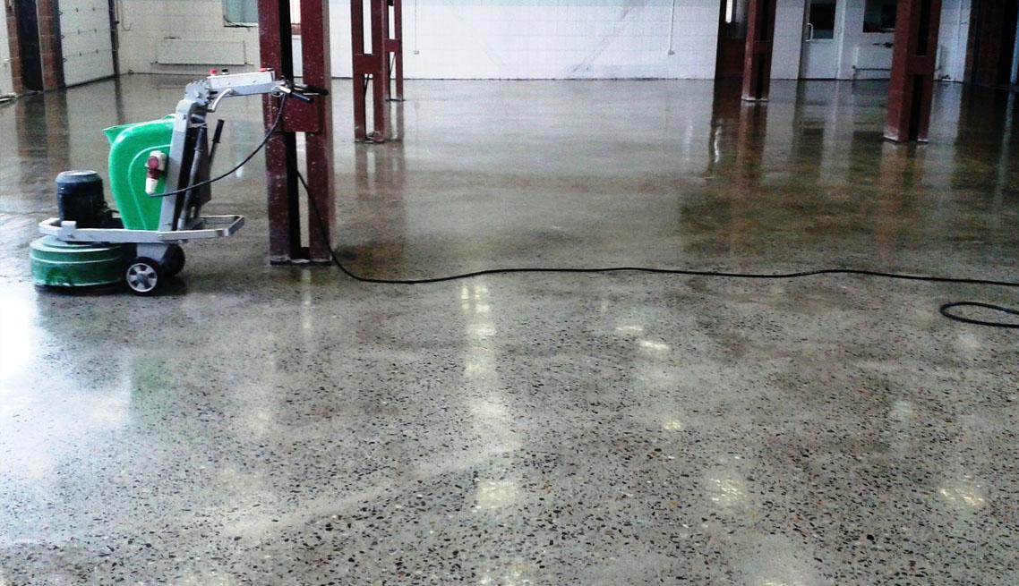 алмазная шлифовка бетона