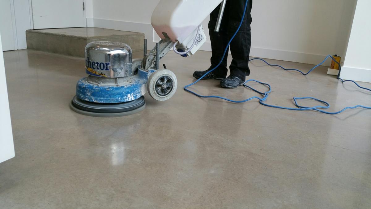 алмазное шлифование бетона