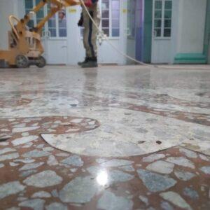 Полировка бетона в Бишкеке